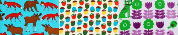 ekologiska barnkläder tryck retro DUNS Sweden