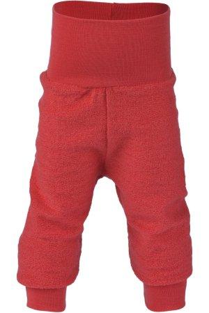 byxa ullfroté baby röd