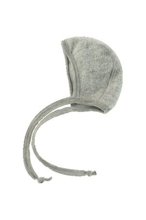 Hjälmmössa ullflis grå 50-68