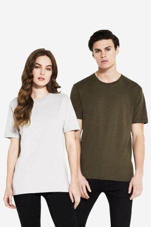 ekologisk t-shirt herr/unisex modell dam & herr