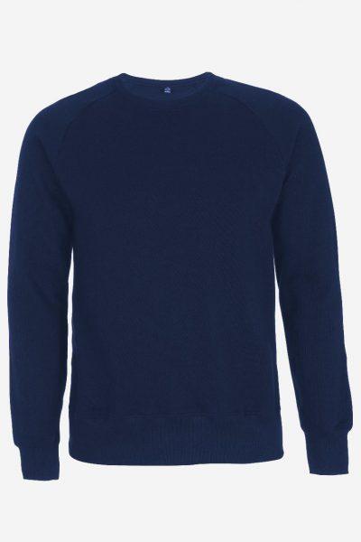 långärmad tröja marinblå