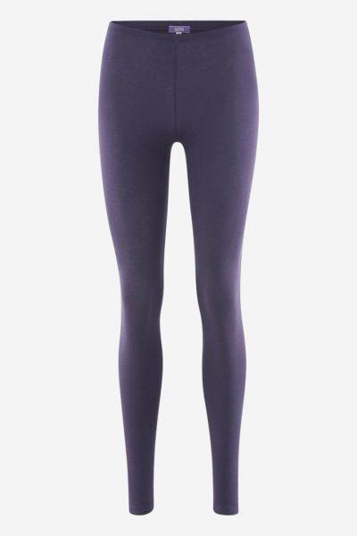 Leggings i bomull lila