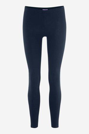 Leggings i bomull marinblå