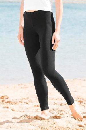 Leggings i bomull svart modell