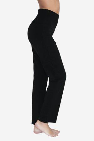yogabyxor hög midjemudd svart modell