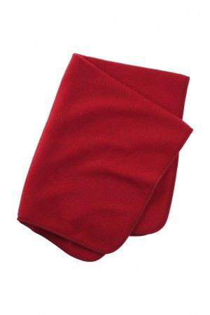 babyfilt ullfleece röd