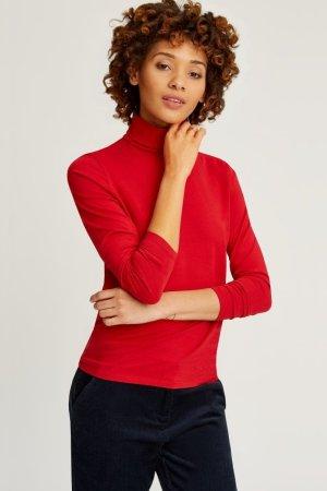 Polotröja Laila röd modell