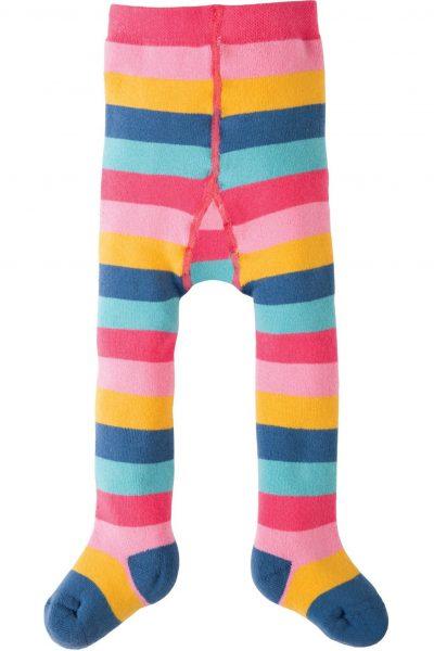 strumpbyxor barn regnbåge randiga frotté, 0-4 år