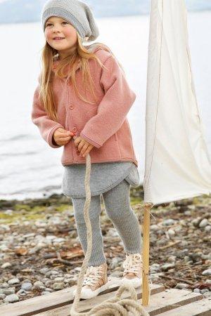 Barnkläder filtad ull kjol leggings modell Disana