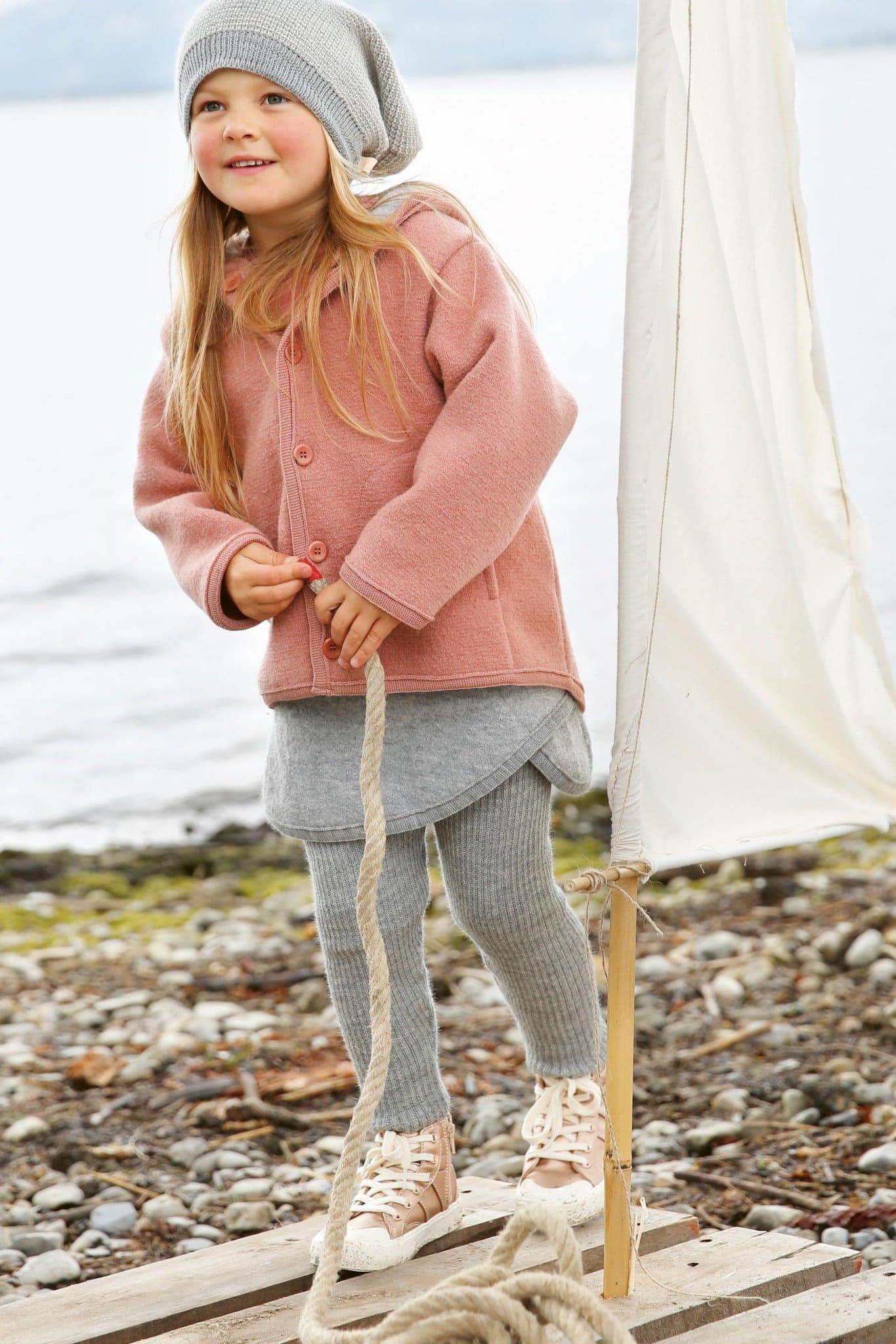 Barnkläder filtad ull kjol leggings modell Disana cf3e8accfef73