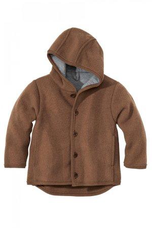 Jacka med luva filtad ull barn