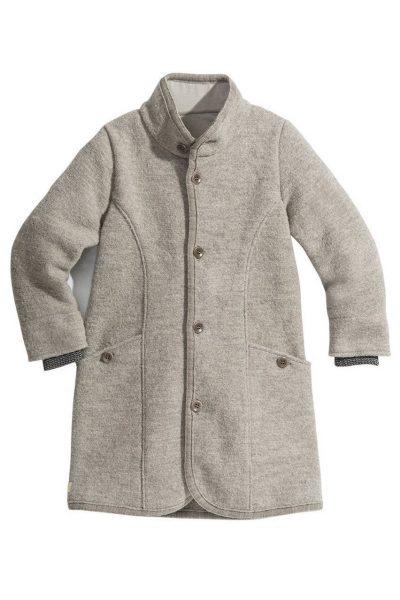 kappa filtad ull barn grå