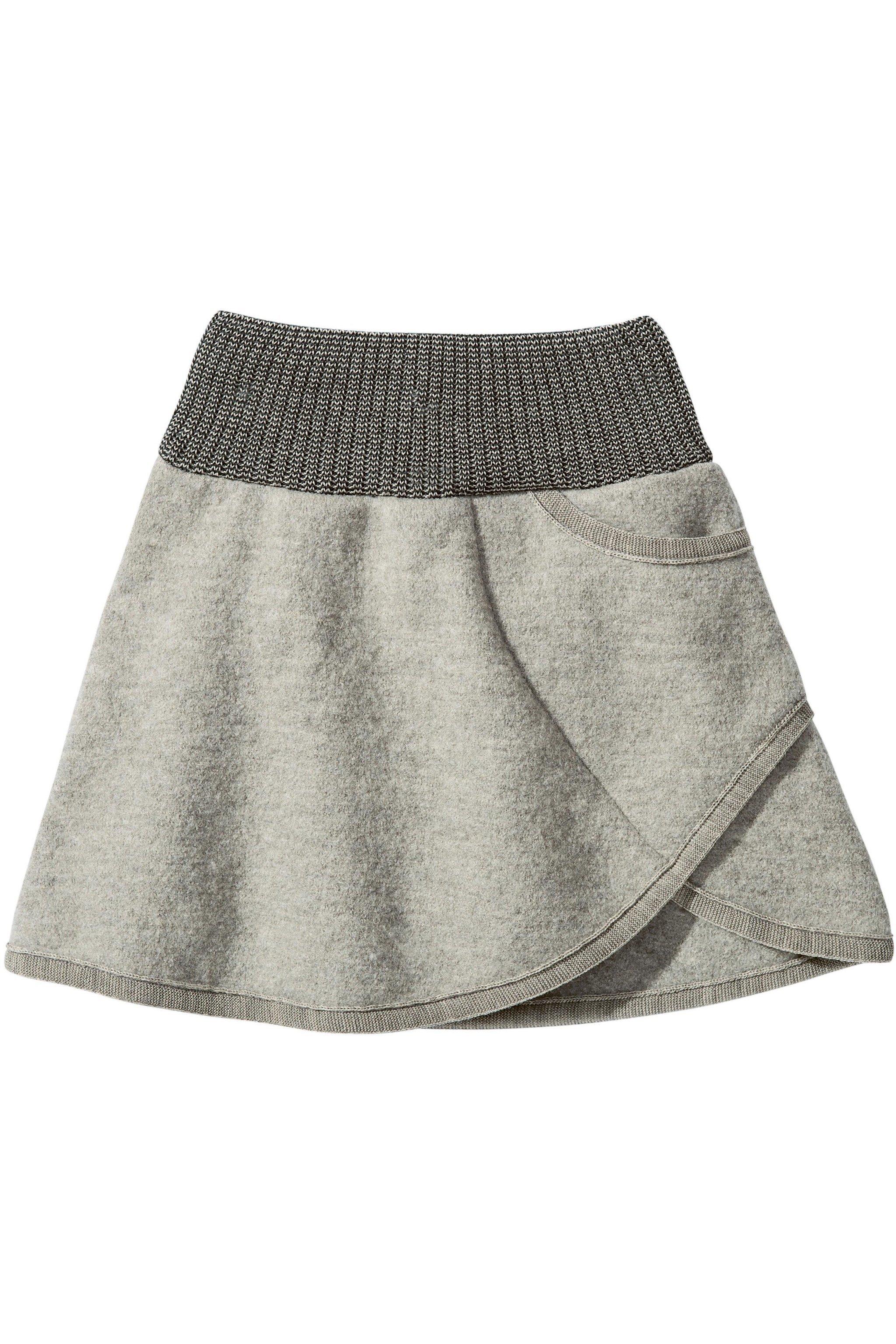 Kjol filtad ull barn · Barnkläder filtad ull kjol leggings modell närbild  Disana 51c007914fdd2