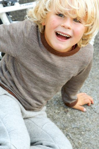 Tröja stickad ull barn stl 98-140 - 3 färger 34708943b1e35