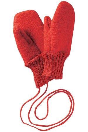 vantar filtad ull baby barn röd
