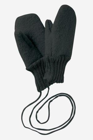 vantar filtad ull baby barn svart