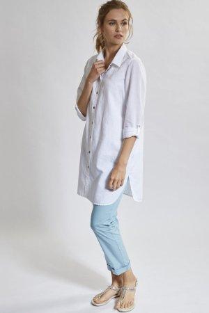 chinos dam blåturkos modell