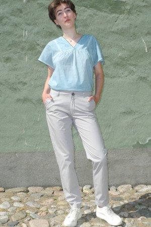 chinos dam grå modell