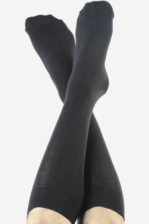 knästrumpor svarta