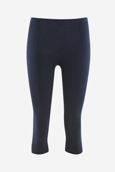 leggings 3/4-längd marinblå