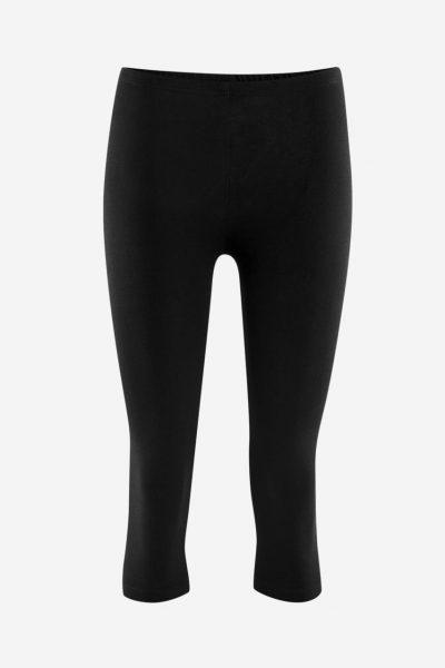 leggings 3/4-längd svarta livingcrafts