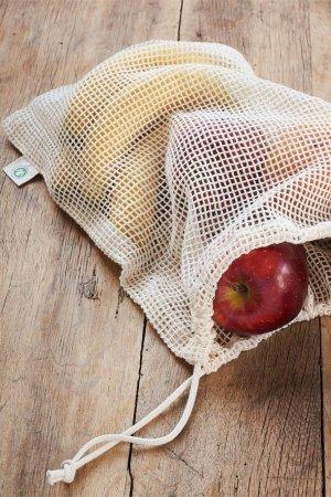 nätpåse matförvaring 2-pack frukt