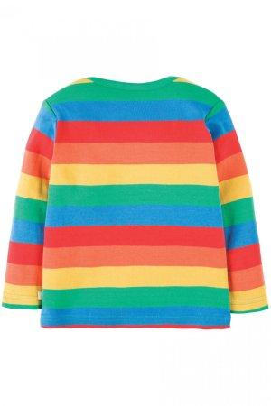 tröja långärm applikation regnbåge baksida