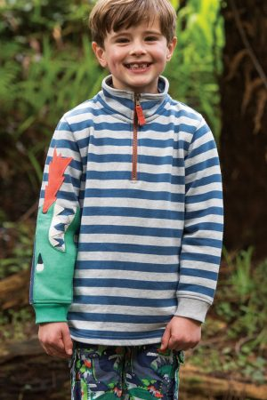 tröja långarm sweatshirt drake baksida modell