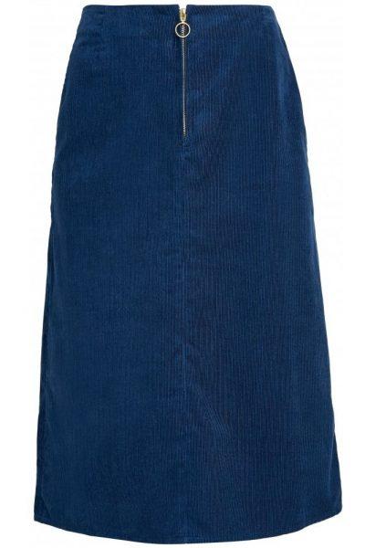 Kjol manchester Renee blå