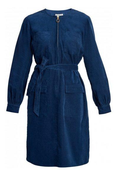 Klänning manchester Amalia blå