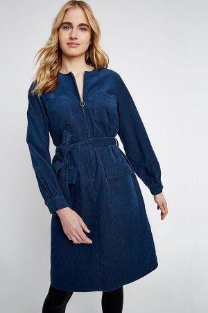 klänning manchester amalia blå modell