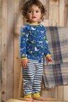 Pyjamas barn varg, 0,5-2 år
