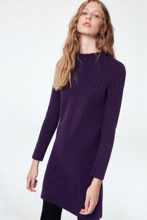 klänning keoni grid lila modell