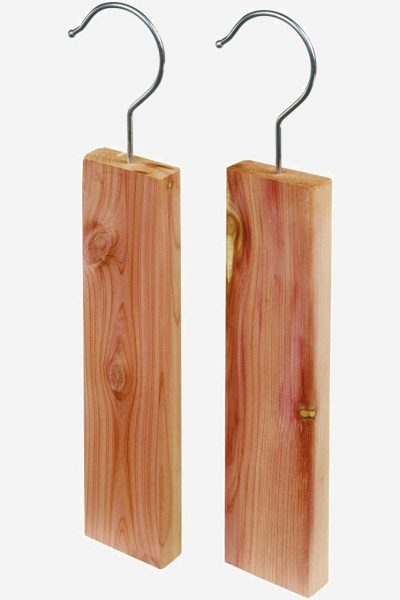 rödcederträ klädvård block krok 2-pack