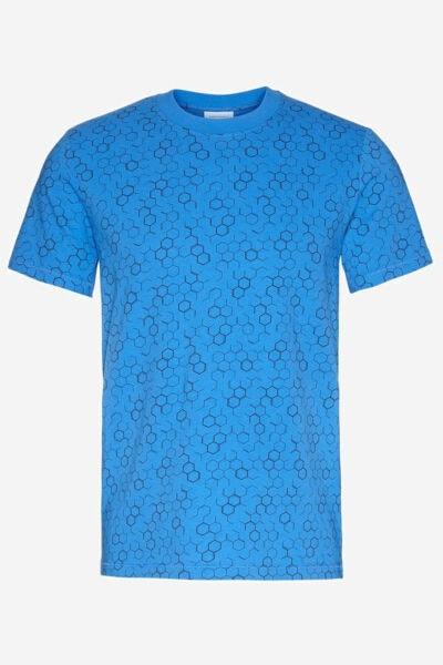 T-shirt molekyler blå
