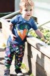 Barntröja kortärm applikation hemodlat, 0-3 år