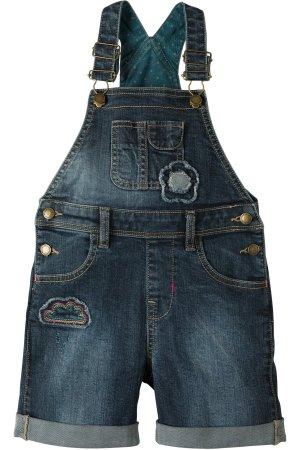 Korta snickarbyxor barn jeanstyg, 4-10 år