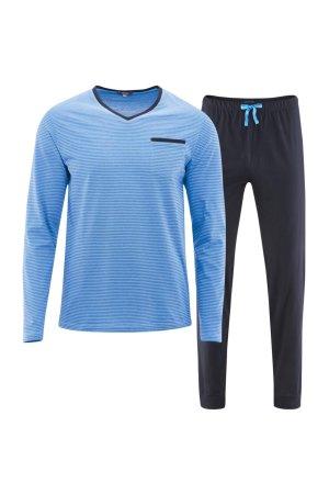 pyjamas herr blå/marinblå