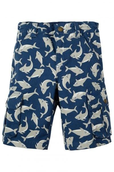 Shorts barn cargo hajar, 2-10 år