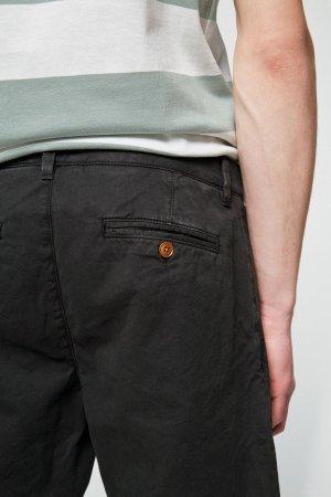 shorts herr brucca marinblå modell närbild
