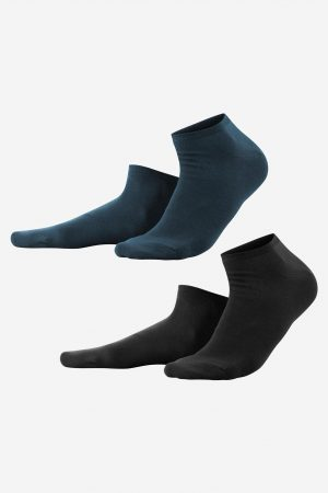 sneaker strumpor mörka 2-pack
