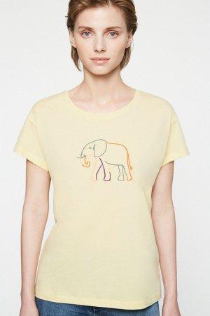 topp elefant neela gul modell