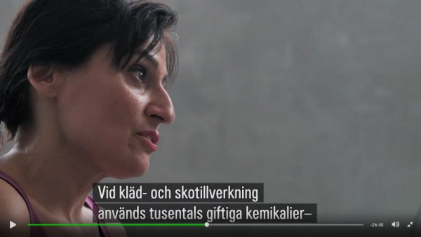 Safia Minney om giftiga kemikalier och modeindustrin