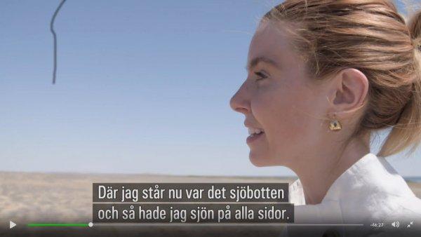 Stacey Dooley om Aralsjön katastrof från bomullsindustrin. Vattenåtgången för ekologisk bomull är dock mycket mindre.
