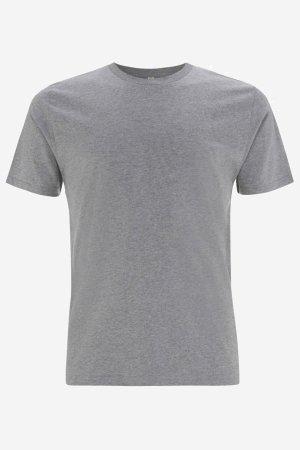 t-shirt herr-unisex gråmelerad