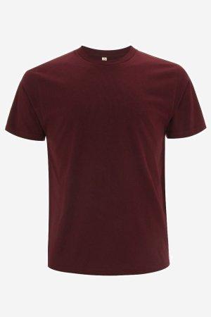 t-shirt herr-unisex vinröd