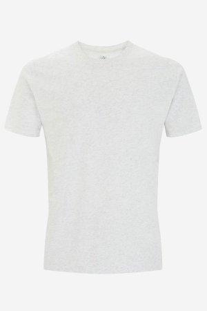 t-shirt herr-unisex vitmelerad