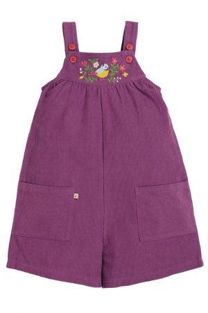 Korta snickarbyxor barn manchester lila, 2-10 år