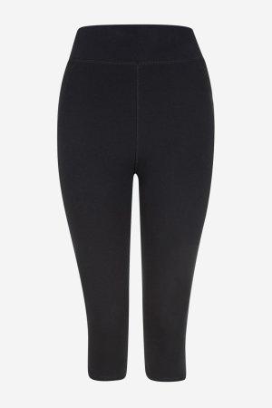 leggings sport/yoga 3/4-längd svart