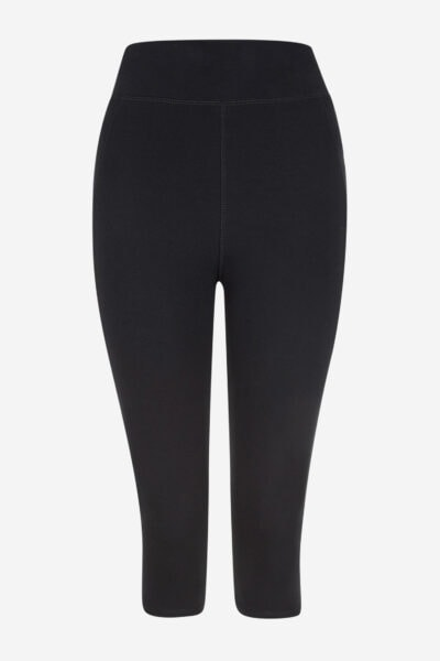 leggings sport/yoga 3/4-längd svart